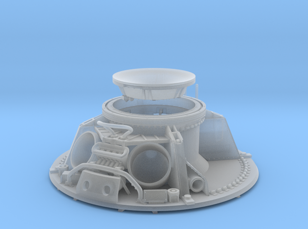 CM parachute compartment-splashdown version