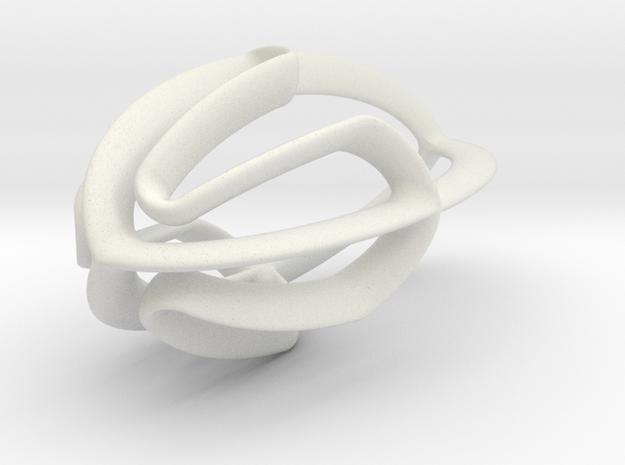 spined lemon squeezer in White Natural Versatile Plastic