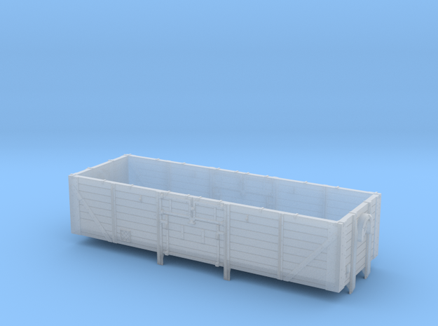 22001 Open Ferry Wagon in Smooth Fine Detail Plastic