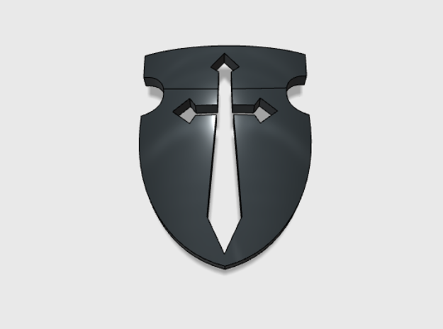 60x Sword and Shield : Shoulder Insignia pack in Frosted Ultra Detail