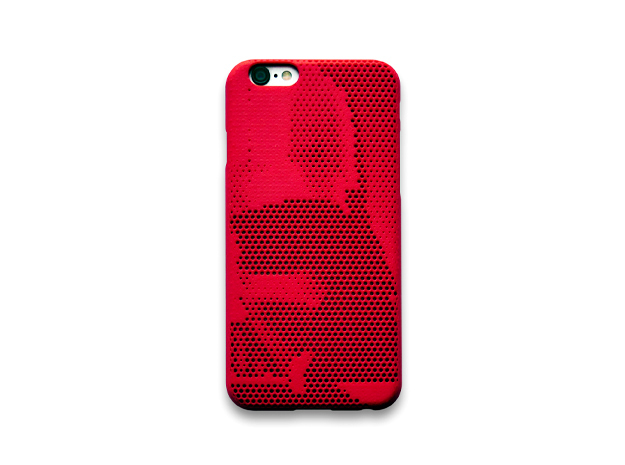 iPhone 6S case_Darth Vader in Red Processed Versatile Plastic