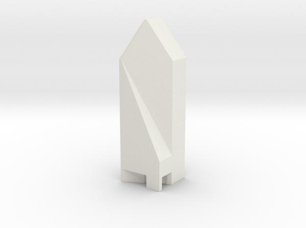Fountain Place - Dallas (1:4000) in White Natural Versatile Plastic