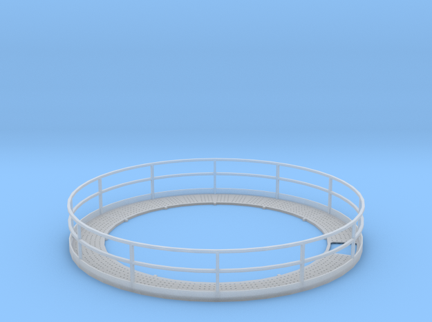 1/64 18' Tower Catwalk Round in Smooth Fine Detail Plastic