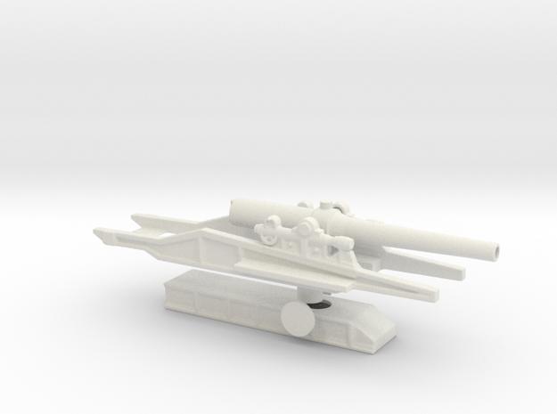 canon de 240l mle17 st chamond 1/72 artillery ww1 in White Natural Versatile Plastic