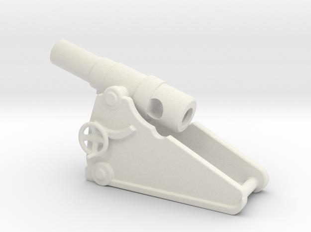 russian heavy 8 inch cannon m 1877 1/100 in White Natural Versatile Plastic