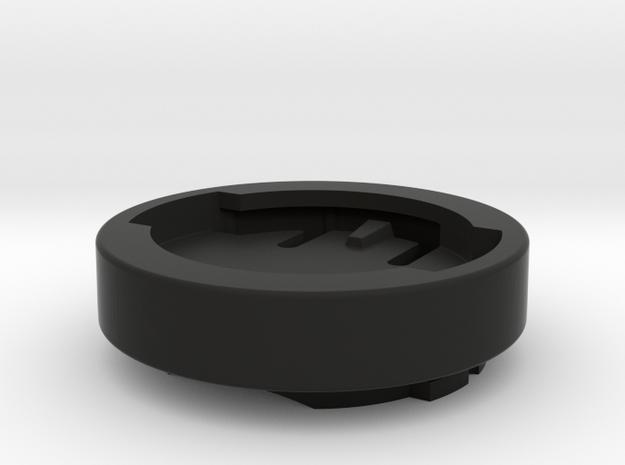 Wahoo Garmin Edge / Forerunner Mount Adapter in Black Premium Strong & Flexible: Medium