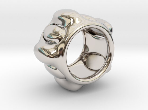 Cell ring in Rhodium Plated