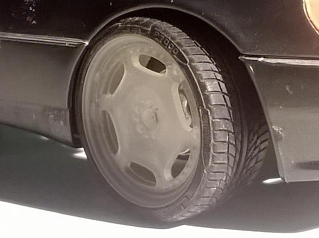 """1/24 Rim Set 20"""" Carlsson 3/6 Style in Smooth Fine Detail Plastic: d00"""