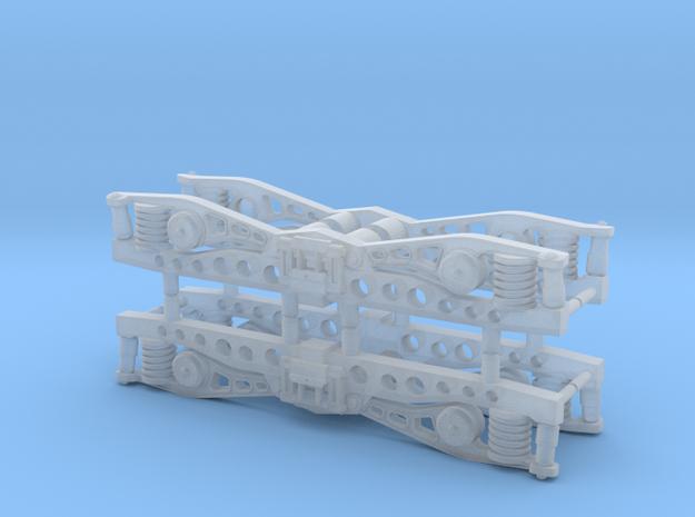 Draaistel DE1, (asafstand 14 mm) in Smoothest Fine Detail Plastic