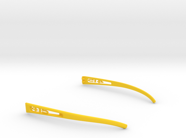 Vanderpool Vision Spec2&3_Temple_VER415 in Yellow Strong & Flexible Polished