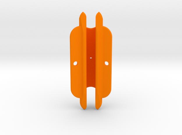 """Cape Dory Typhoon 2 7/8"""" DM375 MastGate in Orange Processed Versatile Plastic"""