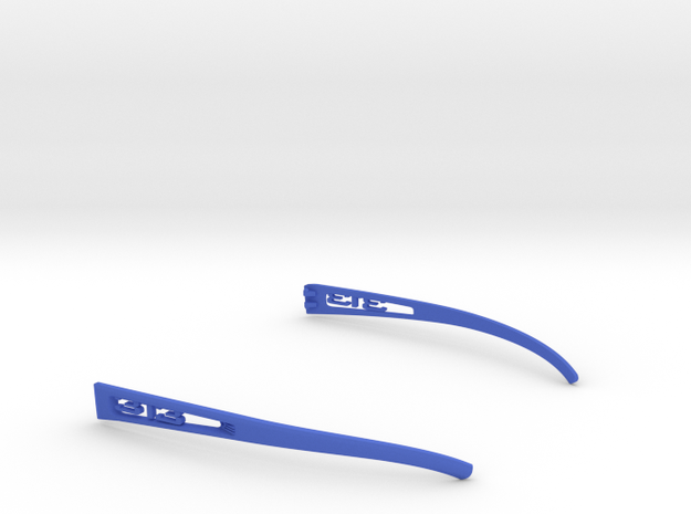 Vanderpool Vision Spec2&3_Temples_VER313 in Blue Strong & Flexible Polished