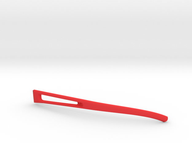 Vanderpool VisionSPEC2,3,4 Left Temple VER0 REV2 in Red Processed Versatile Plastic