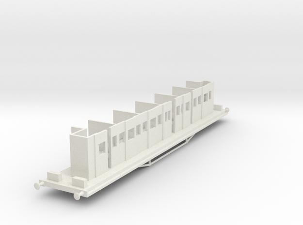HAVC - Victorian Railwyas AV Car Chassis in White Natural Versatile Plastic