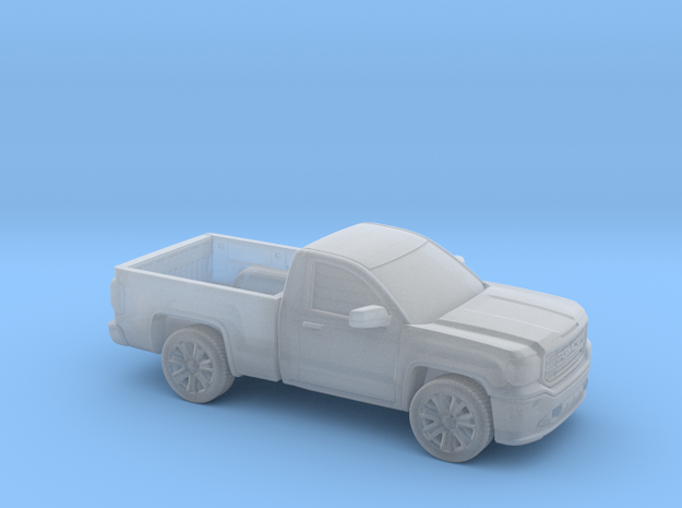 1/87 2013-17  GMC Sierra Reg Cab Reg Bed in Smooth Fine Detail Plastic