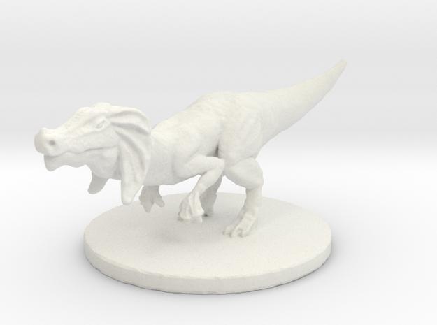 Jaggia (#1) (Medium Beast) in White Natural Versatile Plastic