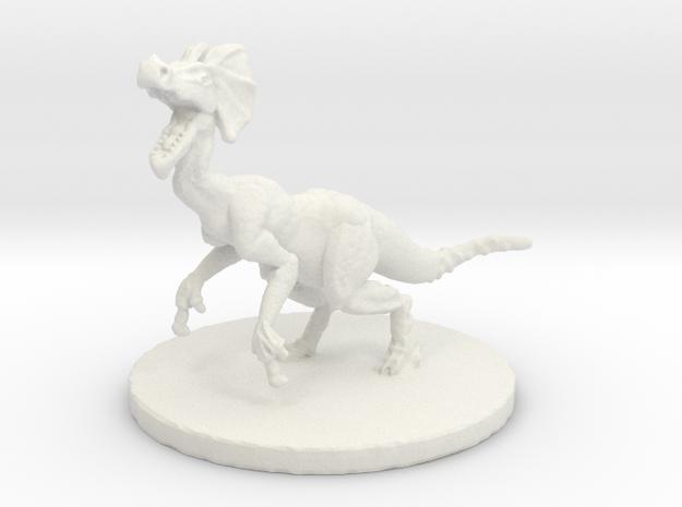 Jaggi (#2) (Medium Beast) in White Natural Versatile Plastic