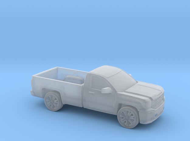 1/160  2013-17  GMC Sierra Reg.Cab Long Bed in Smooth Fine Detail Plastic