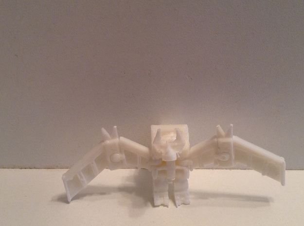 HeadRobot H-02 Thing-O-Wings in White Natural Versatile Plastic