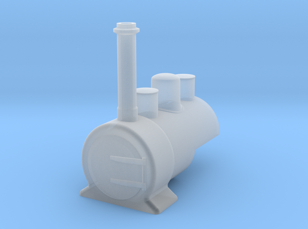 009 'Tiny Trains' Waril style well tank  in Smooth Fine Detail Plastic