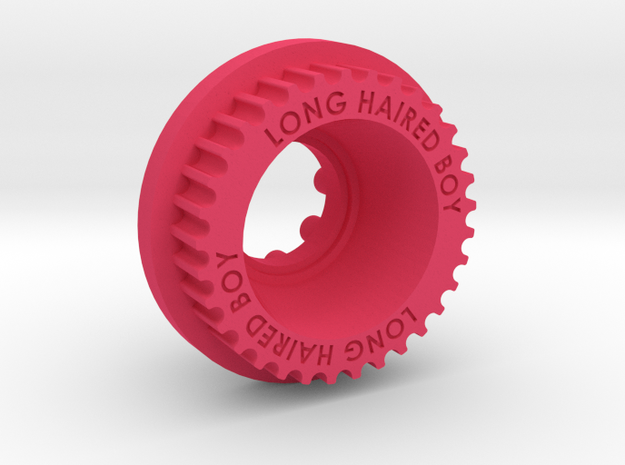 10mm 33T Pulley For Kegals in Pink Processed Versatile Plastic