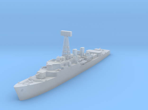 """RN Type 81 """"Tribal"""" class frigate in Smooth Fine Detail Plastic: 1:1250"""