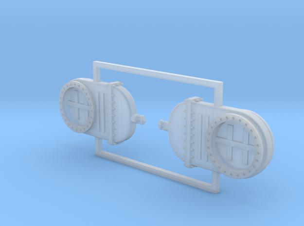 Absperrschieber 1000mm 2erSet - TT 1:120 in Smooth Fine Detail Plastic