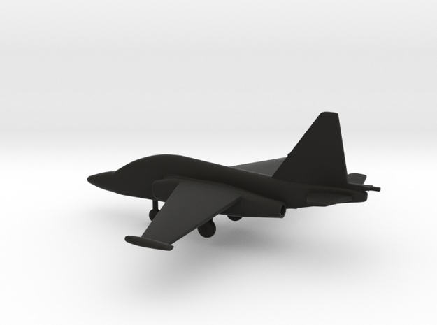 Sukhoi Su-28 in Black Natural Versatile Plastic: 1:200
