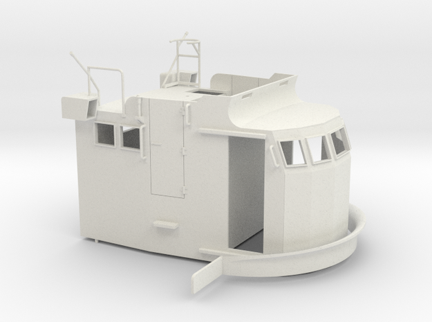 S38 Wheelhouse 1-35 in White Natural Versatile Plastic