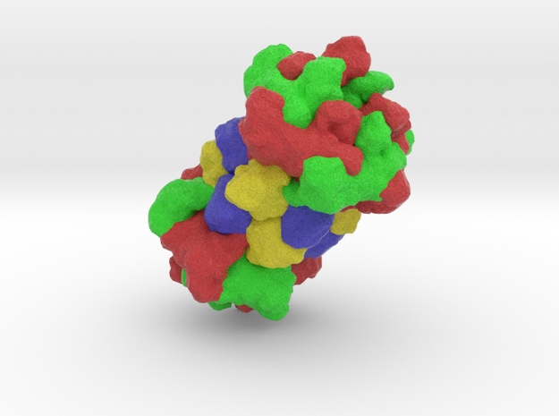 HslUV Protease-Chaperone Complex in Full Color Sandstone