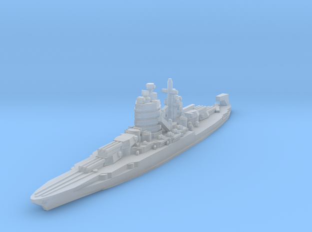 New Mexico class battleship 1/4800 in Smooth Fine Detail Plastic