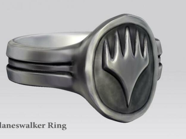 Planeswalker Ring 3d printed