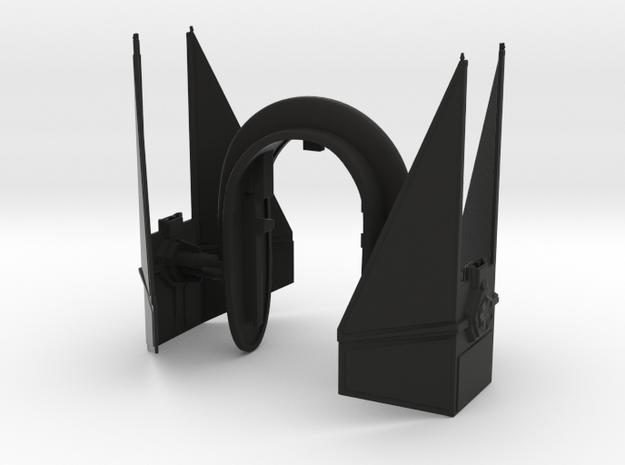 SMALL INTERCOPTER VS 2 KEY  in Black Natural Versatile Plastic