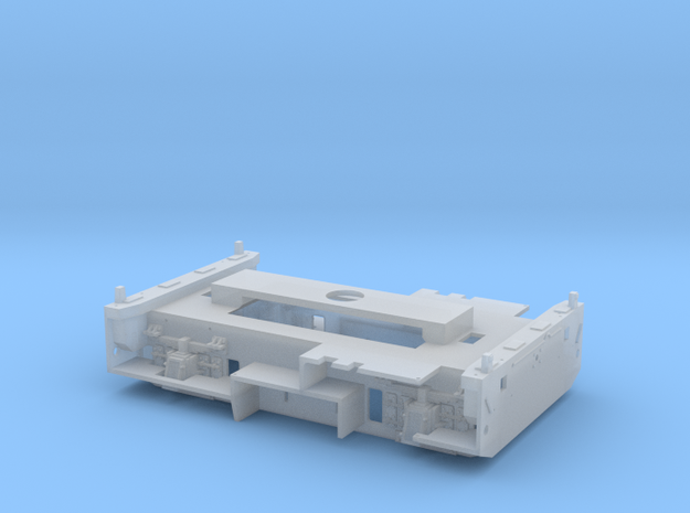 Y2100 Chassis in Smoothest Fine Detail Plastic