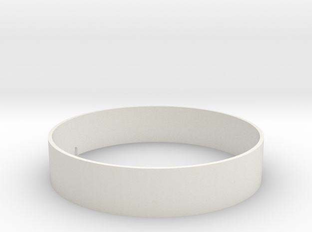 Bartech Ring in White Natural Versatile Plastic