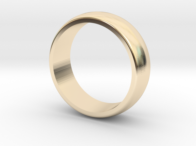 Classic wedding band - 5 mm wide (various sizes)