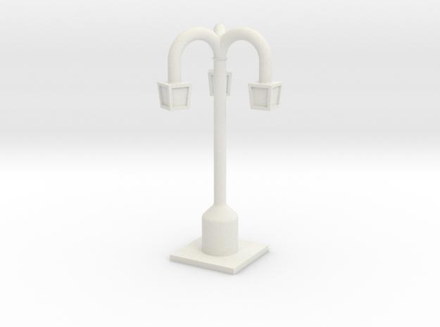 Lamp Posts in White Natural Versatile Plastic