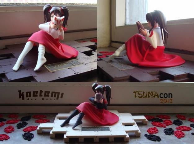 Exclusive Figure for Tsunacon 2012 3d printed Tsuna-chan Ver. A, B, C
