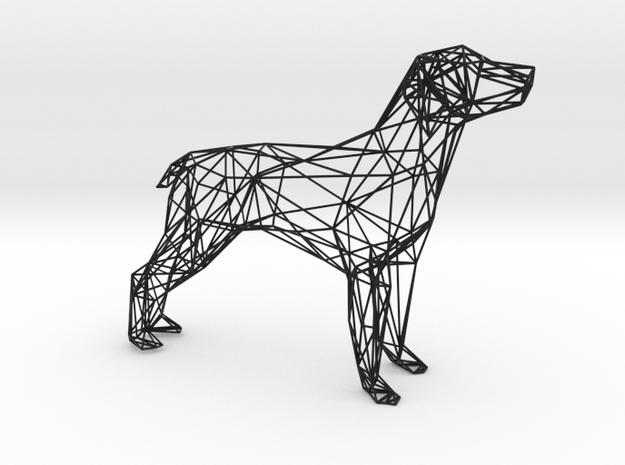 Dog Wire Sculpture
