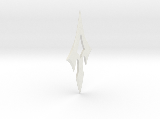 ARROW - Prometheus Throwing Star in White Natural Versatile Plastic