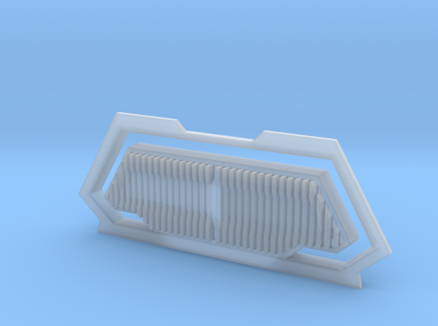 Impulse plate in Smooth Fine Detail Plastic