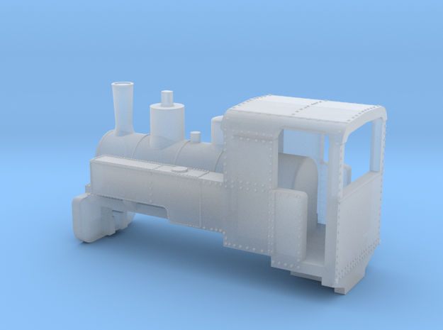 B-1-220-decauville-8ton-060-open-1a in Smooth Fine Detail Plastic
