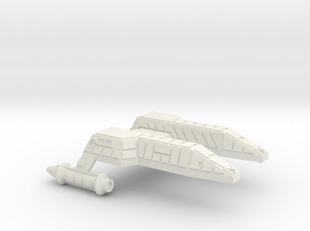3788 Scale Lyran Refitted Leopard Destroyer (DD)  in White Natural Versatile Plastic
