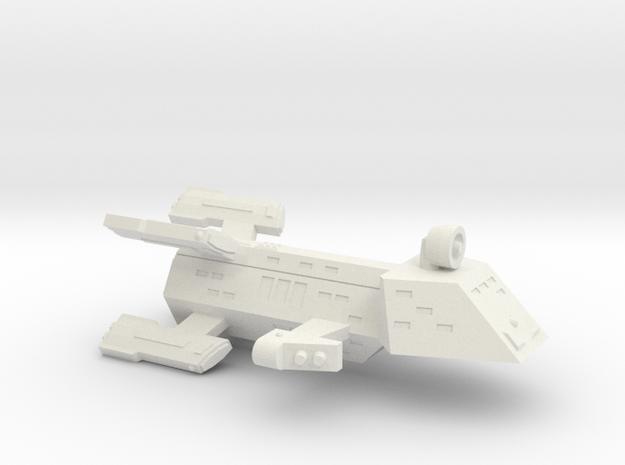 3125Scale Kzinti Battle Frigate (BFF) SRZ in White Strong & Flexible