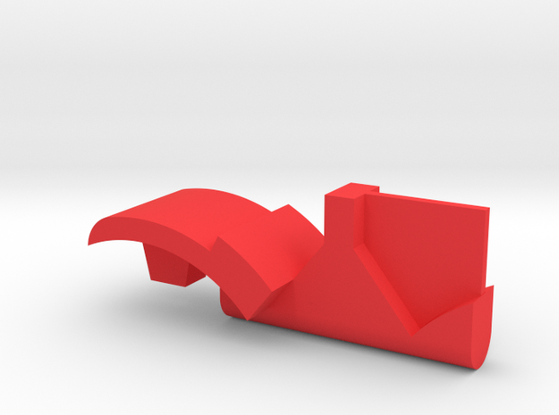 Warthog throttle part - T6 in Red Processed Versatile Plastic