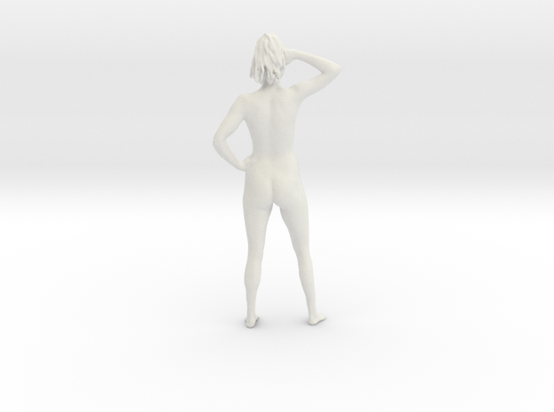 Stefanie Standing in White Natural Versatile Plastic