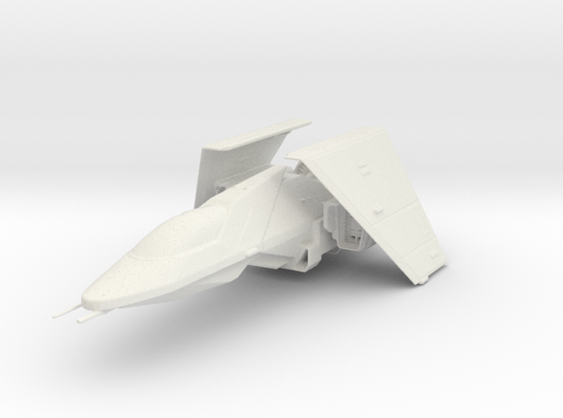 Warbird Fighter in White Natural Versatile Plastic