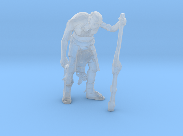 Elder Tribe Leader  in Smooth Fine Detail Plastic