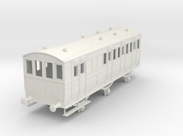 o-43-secr-6w-pushpull-coach-brake-3rd-1 in White Natural Versatile Plastic