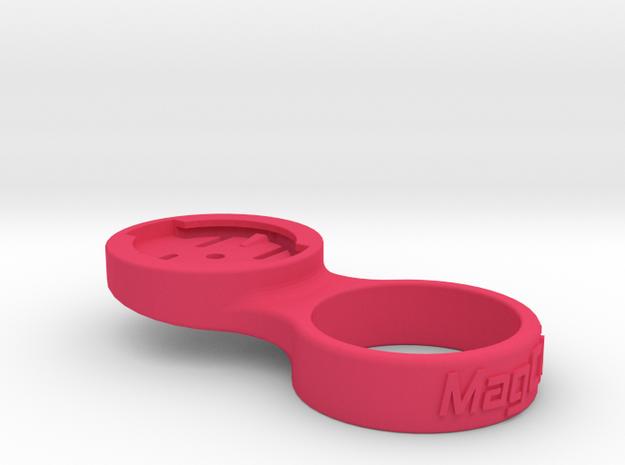 """Garmin Stem Cap Mount 1-1/8"""" - 0deg in Pink Processed Versatile Plastic"""